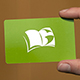 Los Gatos Library library card and logo